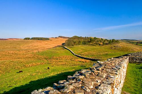 Hadrian's Wall, Housesteads, Northumberland