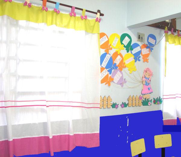 Decora o sala da ebd for Cortinas para aulas