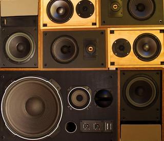 Speaker Pile