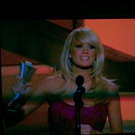 Carrie Underwood accepting award for Top Female Vocalist