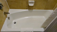 Bathroom Tub at the Hilton Seattle