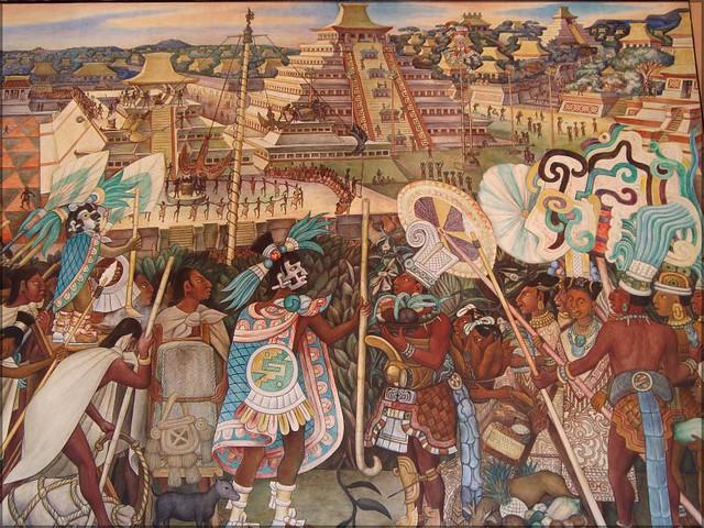 Flickr photo sharing for Mural de rivera