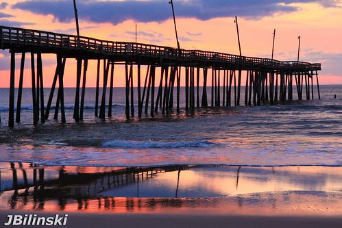 sunrise pier north carolina outerbanks obx rodanthe