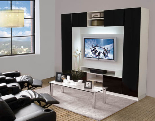 keegan wall unit for thin panel mounted tv flickr. Black Bedroom Furniture Sets. Home Design Ideas