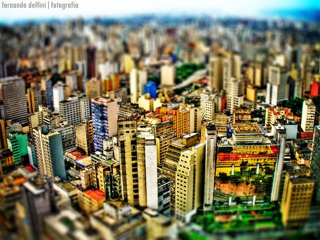 |HDR| São Paulo - Fake Tilt-Shift
