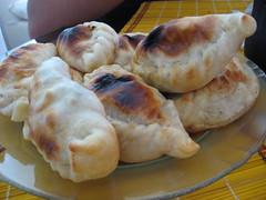 meal(0.0), breakfast(0.0), bread(0.0), pierogi(0.0), dessert(0.0), pigs in blankets(0.0), sausage roll(0.0), baked goods(1.0), ciabatta(1.0), food(1.0), dish(1.0), empanada(1.0), cuisine(1.0), pasty(1.0),