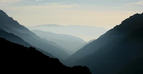 Montagne en Corse