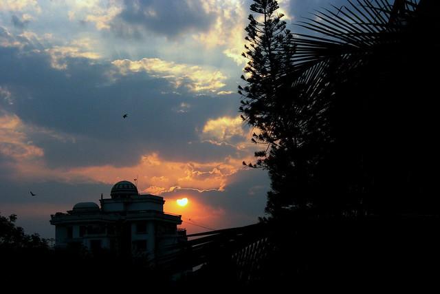 Evening Sunset at Ulsoor