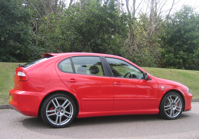 2004 seat leon cupra r 225 emocion red flickr photo sharing. Black Bedroom Furniture Sets. Home Design Ideas