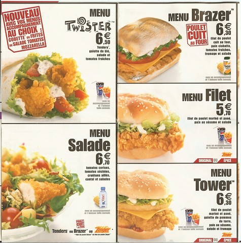 KFC : Le nouveau menu produits pour meltyFood