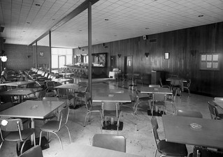 Henderson Hall, VA NCO Club lounge 1 September 1952