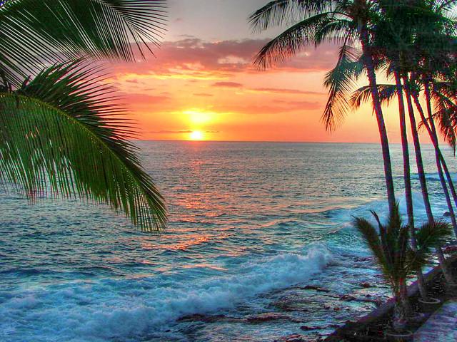 Tropical Island Beach Ocean Sunset: Flickr - Photo Sharing