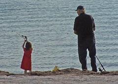 Fishing In Serenity Beach