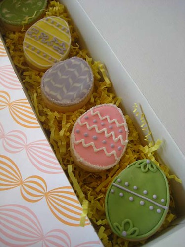 Packaged Easter Cookies