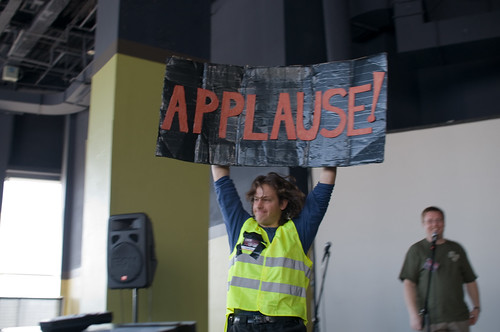 Applause!