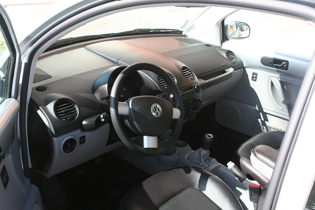 2003 Silver Volkswagen Beetle Interior 2 Flickr Photo Sharing