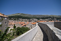 Atop Dubrovnik's City Walls