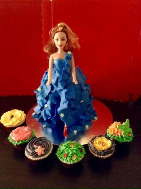Doll Cake by Verl's Kitchen