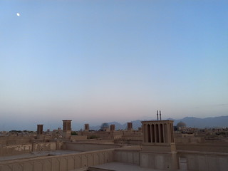 Dächer von Yazd