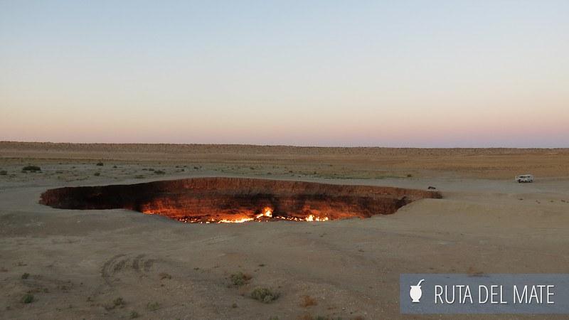 Crater de Darvaza Turkmenistan (2)