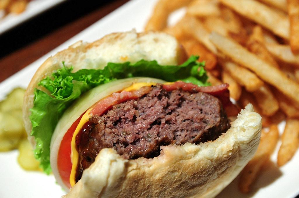 En Burger-牛肉起士漢堡