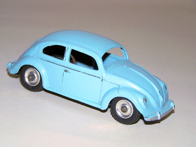 Toys From 1953 : Dinky toys  volkswagen beetle flickr