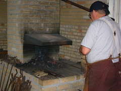 kitchen appliance, masonry oven, wood, person, brickwork,