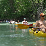San Marcos River kayaking