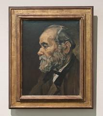 Portret van een oude man, Vincent van Gogh (1885)