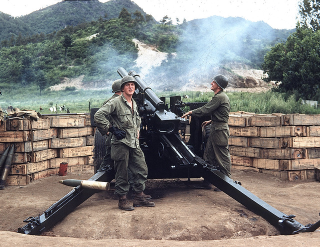 Korean War: Battle of the Kumsong Salient, 58th FAB, 3rd Infantry Division