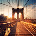 New York - Brooklyn Bridge Sunset by Philipp Klinger Photography