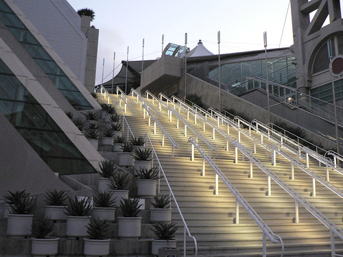 San Diego Convention Center Stairs by Marc_Smith