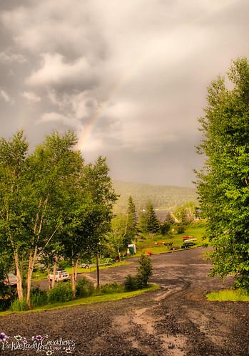 trees lake nature rainbow nikon view maine rangeley d90 18105mm