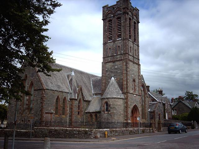 26) Castle Douglas (9).  St. Andrews Church