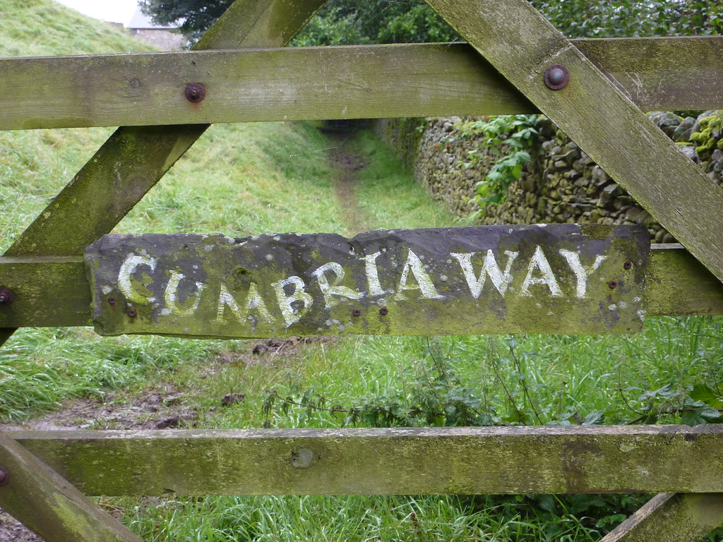 The Cumbria Way, August 2009