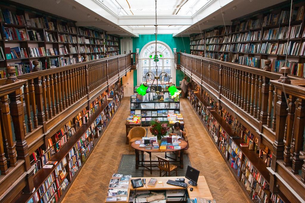Daunts book shop