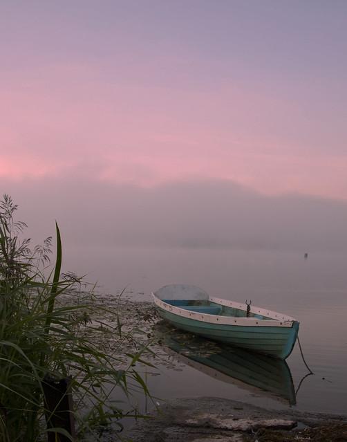 boat at peace