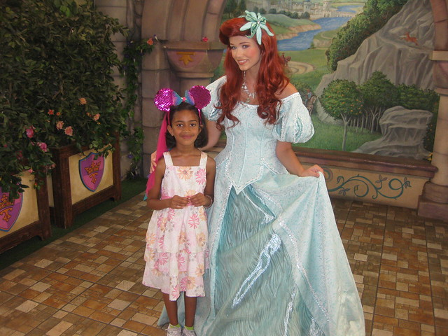 Real Princess Anjali with Ariel look alike | Flickr ...