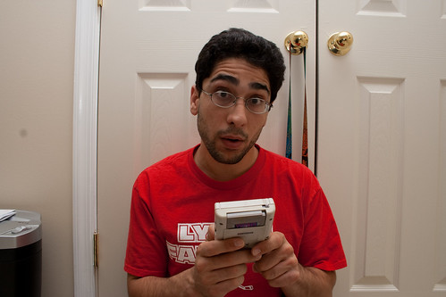 Day One Hundred Thirty-Nine:  There's a new Gameboy out?