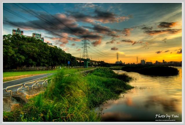 淡水河夕照(Danshui River Sunset_5)