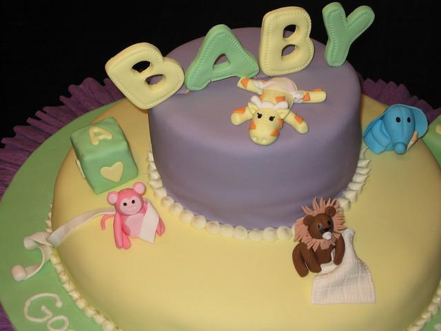 zoo animals baby shower cake flickr photo sharing