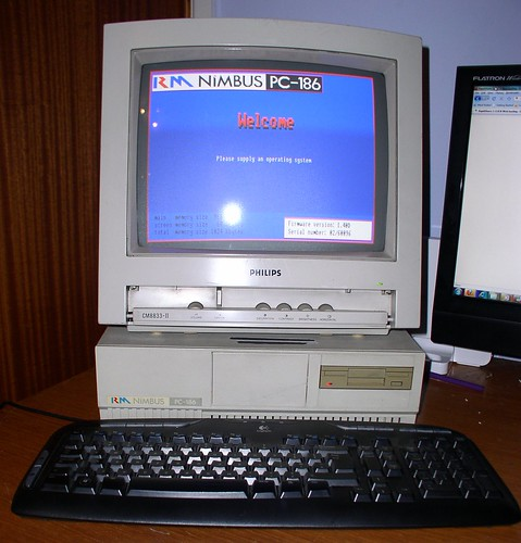 RM Nimbus PC-186 boot screen
