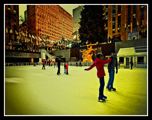 Rockefeller Center.To:Dircinha happy bdy..
