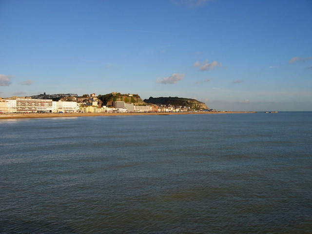The view from Hastings Pier
