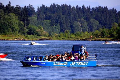willamette jet boat