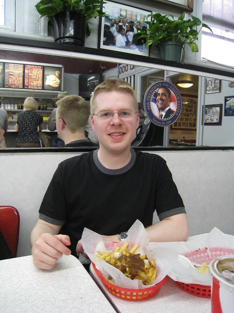 Mack at Ben's Chili Bowl