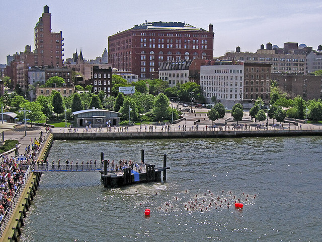 Great Hudson River Swim 2009