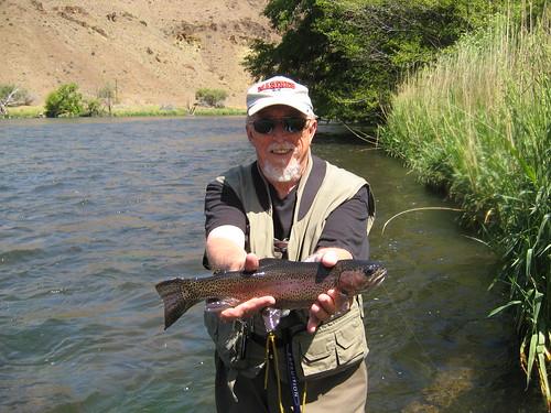 Deschutes river fishing report ethan nickel outfitters for Deschutes river fishing report