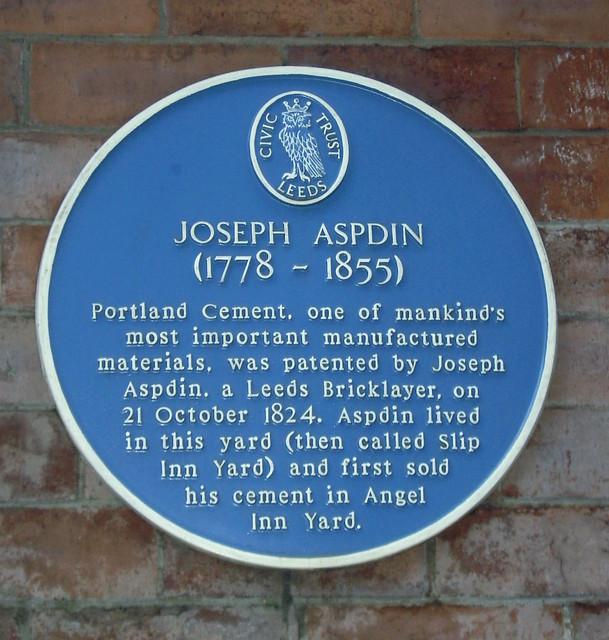 Joseph Aspdin & Portland Cement