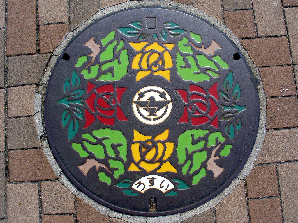 Ibaraki city, Osaka pref manhole cover??????????????